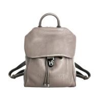 Кожаный рюкзак FERRERA, цвет бежевый АРТ.  2024
