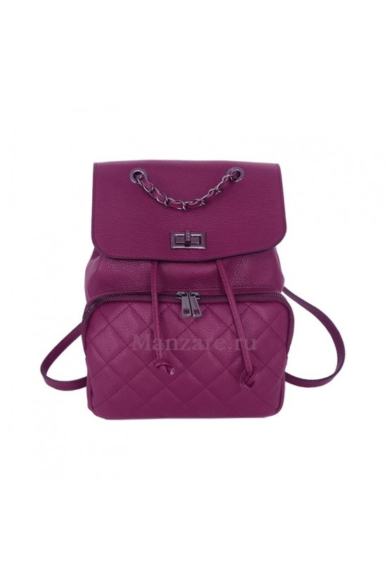 Кожаный рюкзак FLORENCE, цвет бургунди арт.  2023