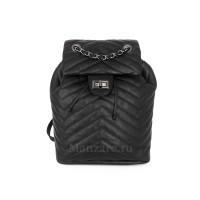 Кожаный рюкзак GOTHIC, цвет черный АРТ.  2026