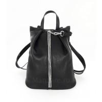 Кожаный рюкзак NEAPOLIS, цвет чёрный  арт. 2013