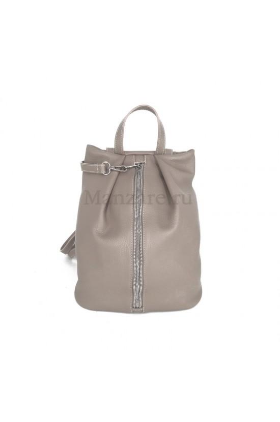 Кожаный рюкзак NEAPOLIS, цвет бежевый