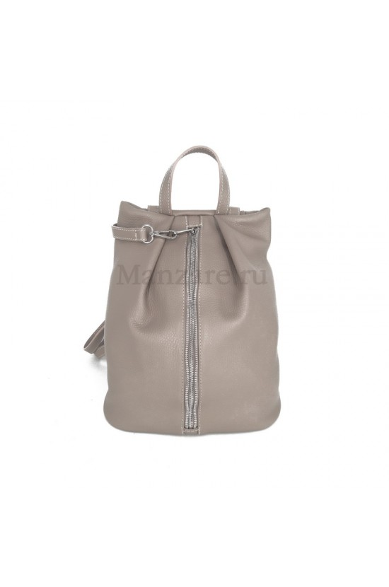 Кожаный рюкзак NEAPOLIS, цвет бежевый арт. 2015