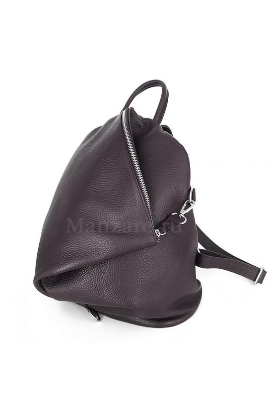 Кожаный рюкзак SALERNO, цвет горький шоколад  арт. 2001