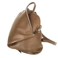 Кожаный рюкзак SALERNO, цвет карамель АРТ. 2010