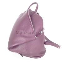 Кожаный рюкзак SALERNO, цвет розовый АРТ. 2009