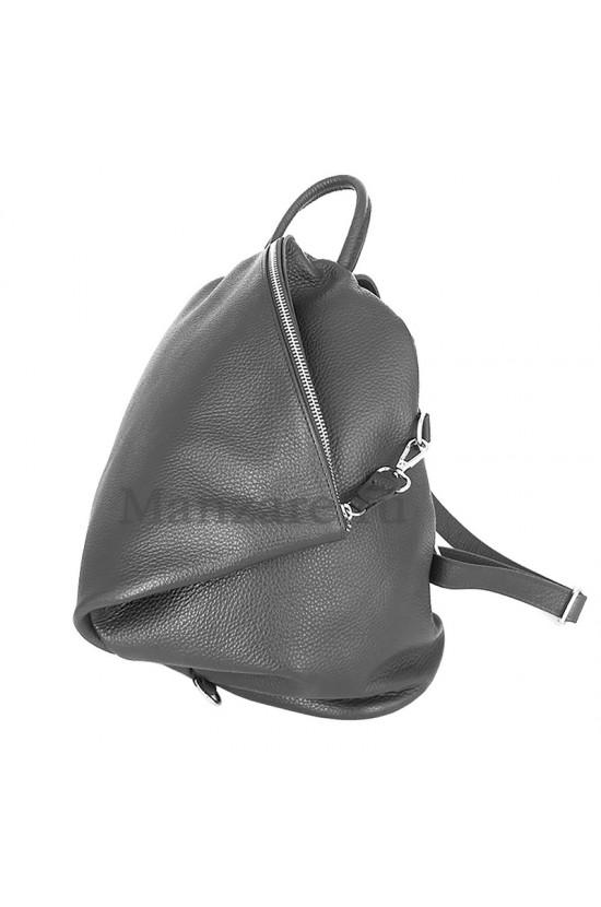 Кожаный рюкзак SALERNO, цвет серый арт. 2005