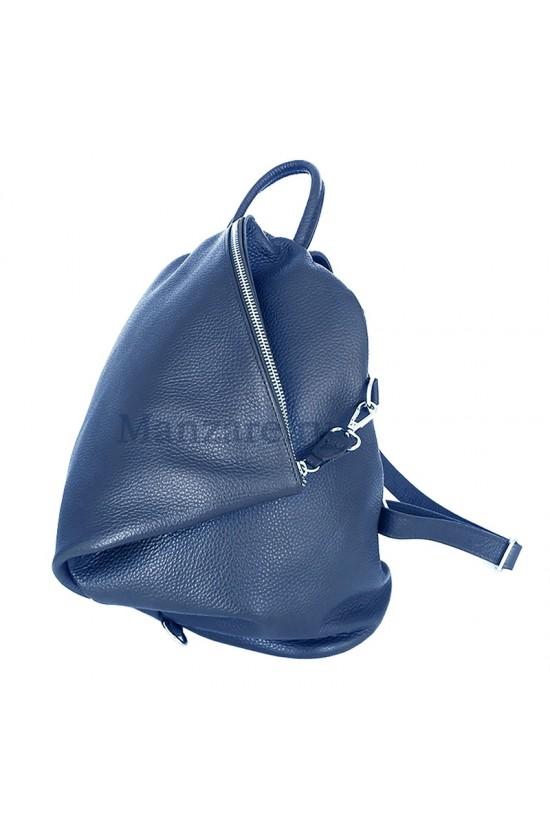 Кожаный рюкзак SALERNO, цвет синий