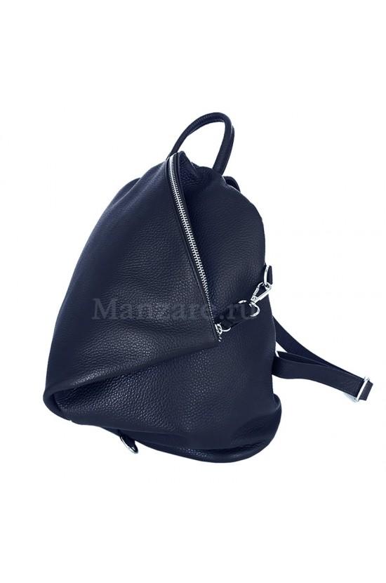 Кожаный рюкзак SALERNO, цвет тёмно-Синий арт. 2004