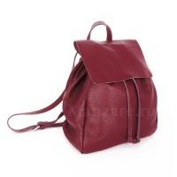 Кожаный рюкзак SIENA, цвет красный арт.  2022