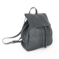 Кожаный рюкзак SIENA, цвет серый арт.  2020