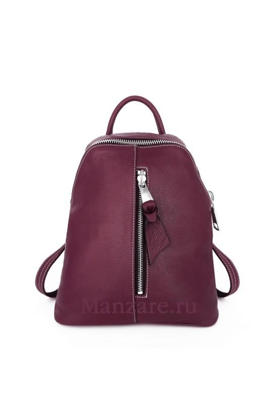 Кожаный рюкзак TURIN, цвет марсала арт. 2018