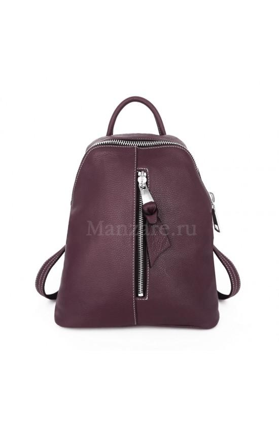 Кожаный рюкзак TURIN, цвет шоколад арт. 2017